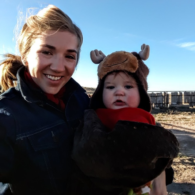 Mama and Buster moose hat shipping